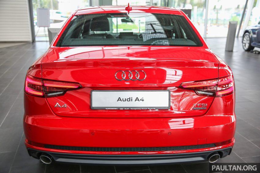 新车图集:全新 Audi A4 1.4 TFSI 与 2.0 TFSI Quattro。 Image #25311