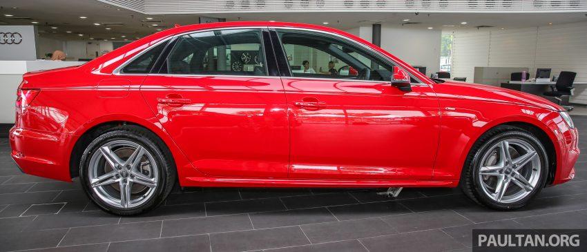 新车图集:全新 Audi A4 1.4 TFSI 与 2.0 TFSI Quattro。 Image #25312