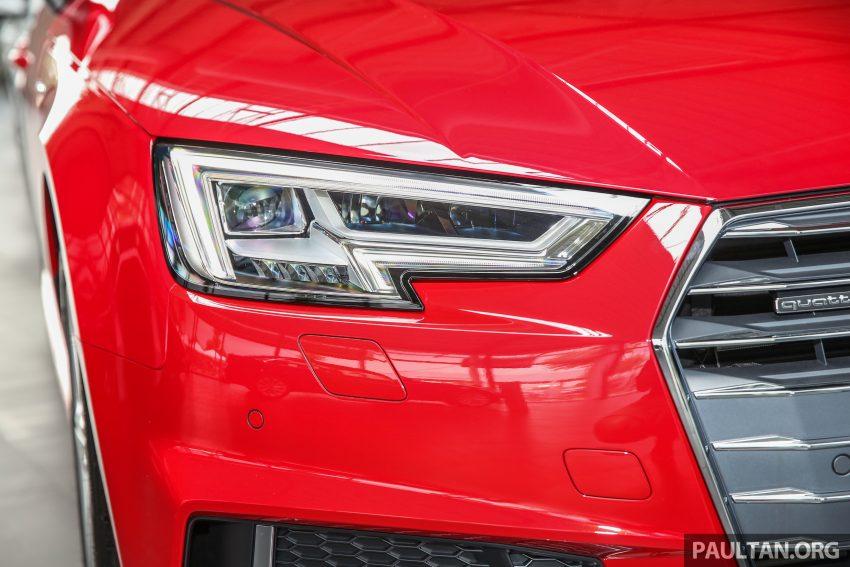 新车图集:全新 Audi A4 1.4 TFSI 与 2.0 TFSI Quattro。 Image #25314
