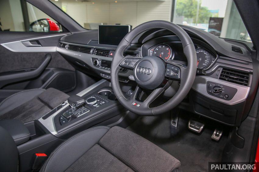 新车图集:全新 Audi A4 1.4 TFSI 与 2.0 TFSI Quattro。 Image #25332