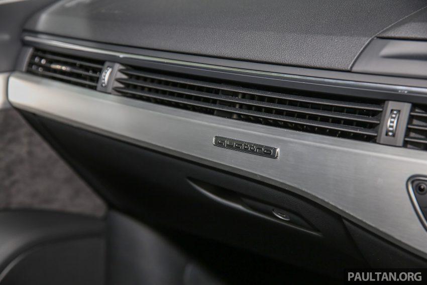 新车图集:全新 Audi A4 1.4 TFSI 与 2.0 TFSI Quattro。 Image #25346