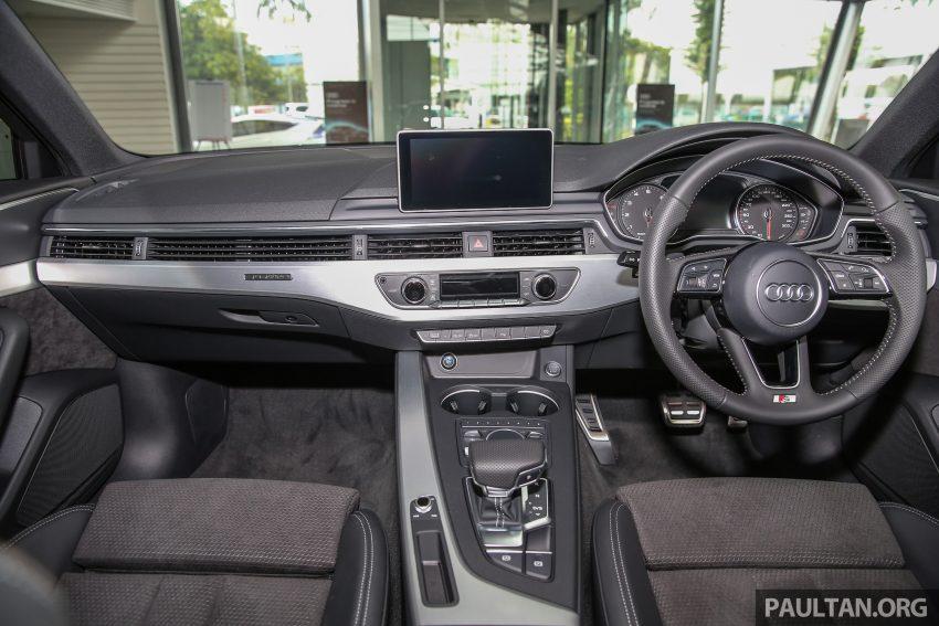新车图集:全新 Audi A4 1.4 TFSI 与 2.0 TFSI Quattro。 Image #25333