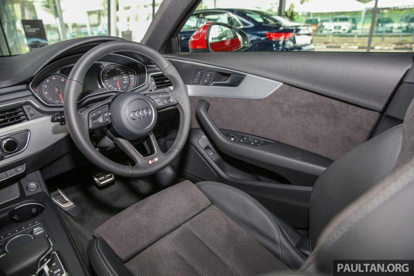 新车图集:全新 Audi A4 1.4 TFSI 与 2.0 TFSI Quattro。 Image #25352