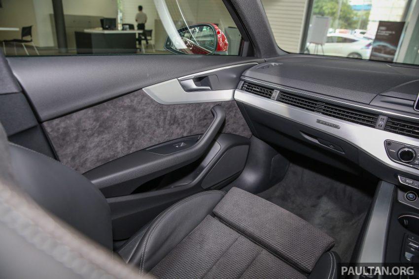 新车图集:全新 Audi A4 1.4 TFSI 与 2.0 TFSI Quattro。 Image #25353