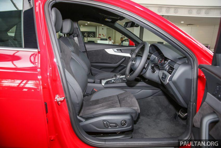 新车图集:全新 Audi A4 1.4 TFSI 与 2.0 TFSI Quattro。 Image #25354