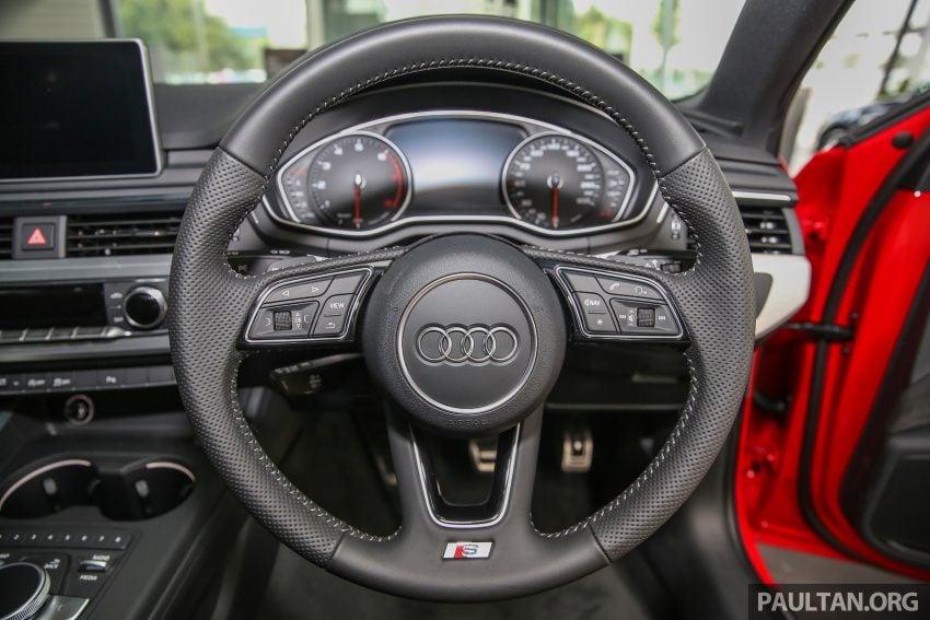 新车图集:全新 Audi A4 1.4 TFSI 与 2.0 TFSI Quattro。 Image #25334