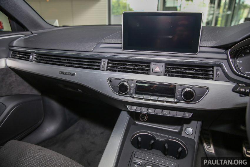 新车图集:全新 Audi A4 1.4 TFSI 与 2.0 TFSI Quattro。 Image #25337