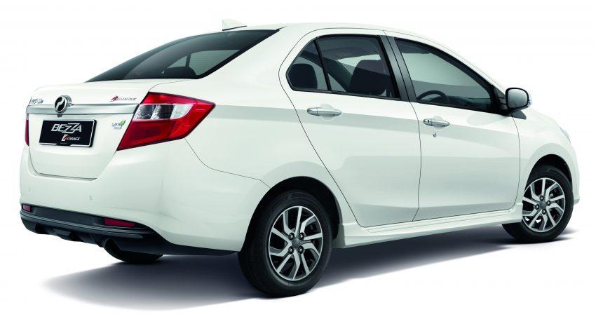 Perodua Bezza 上市不足一年即推出小幅度升级版,全新皮椅设计、镀铬冷气旋钮、更饱满的后保险杆,不加价。 Image #25829
