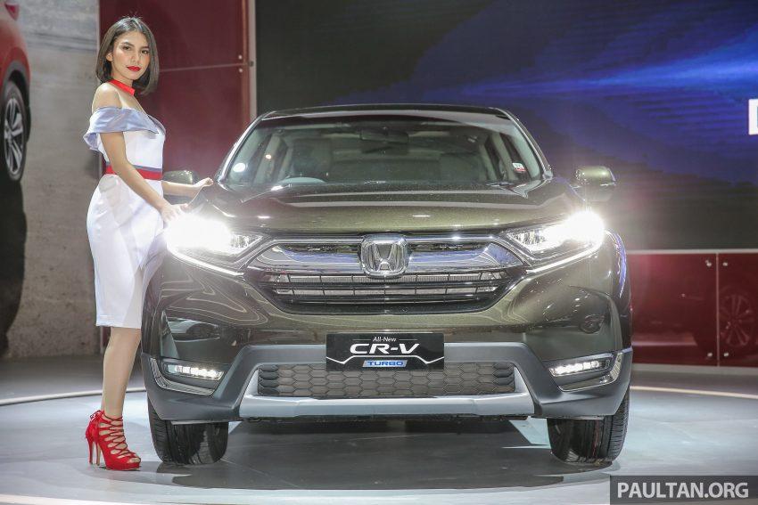 印尼车展:全新 Honda CR-V 发布,七座位 1.5L VTEC Turbo,五座位 2.0L NA!或与即将发布的大马版最接近! Image #27827