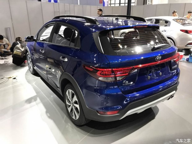 又一款中国专属车型,Kia K2 Cross 明日上海车展登场。 Image #26097
