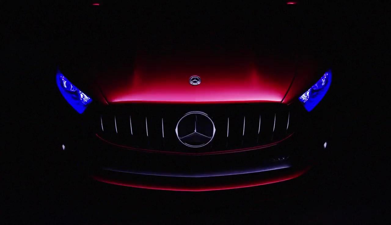 Mercedes Benz 将在上海发布 A Class Sedan 概念车。 Mercedes Benz