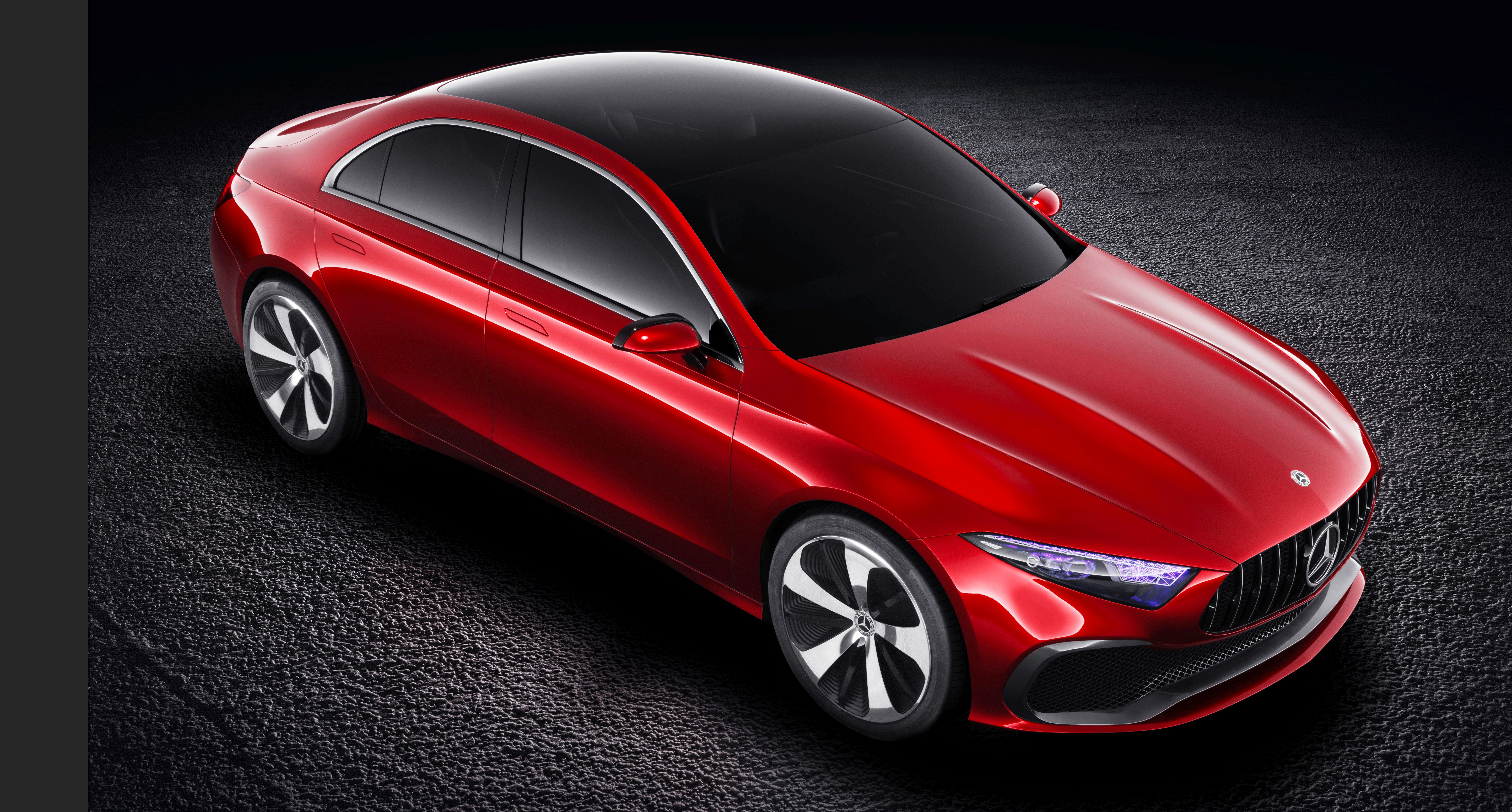 Mercedes Benz >> Mercedes-Benz A-Class Sedan 概念车,上海正式发布。 Mercedes-Benz ...