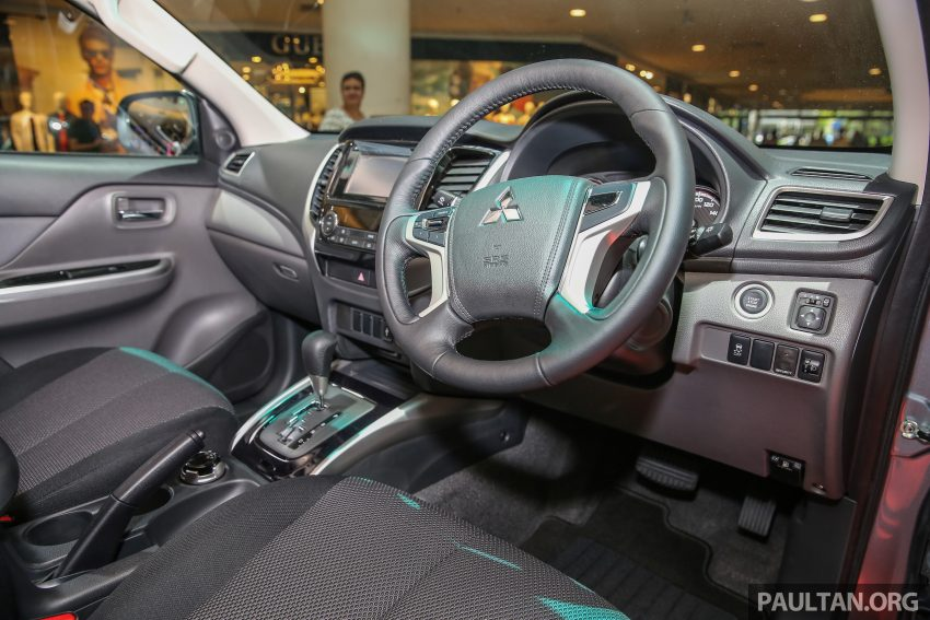 Mitsubishi Triton 将推升级版, 安全配备提升, 周五上市。 Image #24340