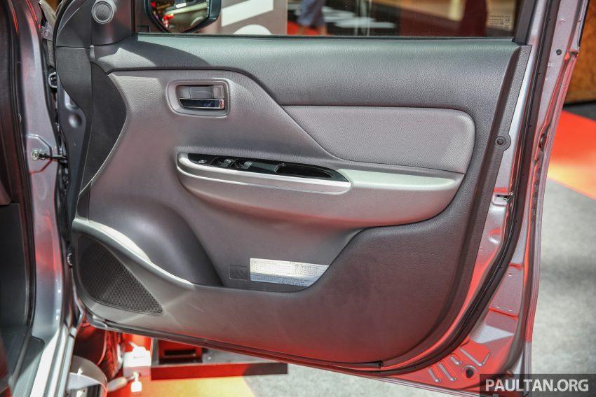 Mitsubishi Triton 将推升级版, 安全配备提升, 周五上市。 Image #24347