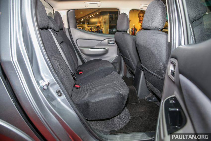Mitsubishi Triton 将推升级版, 安全配备提升, 周五上市。 Image #24350