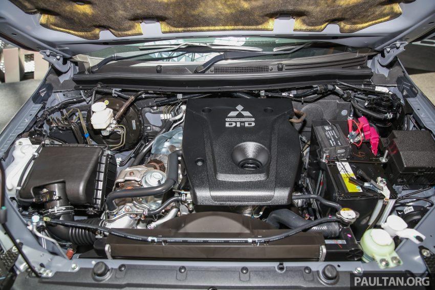 Mitsubishi Triton 将推升级版, 安全配备提升, 周五上市。 Image #24352