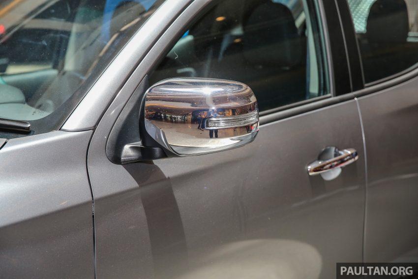 Mitsubishi Triton 将推升级版, 安全配备提升, 周五上市。 Image #24336