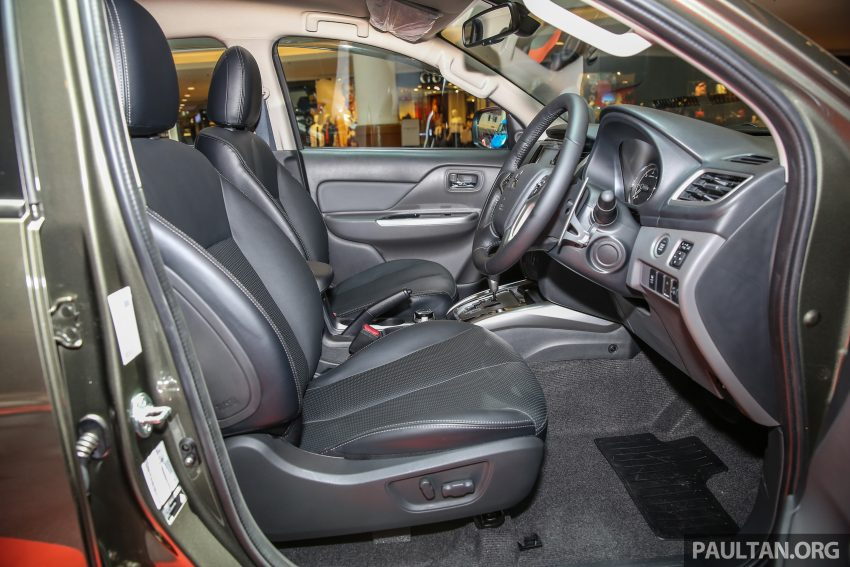 Mitsubishi Triton 将推升级版, 安全配备提升, 周五上市。 Image #24294