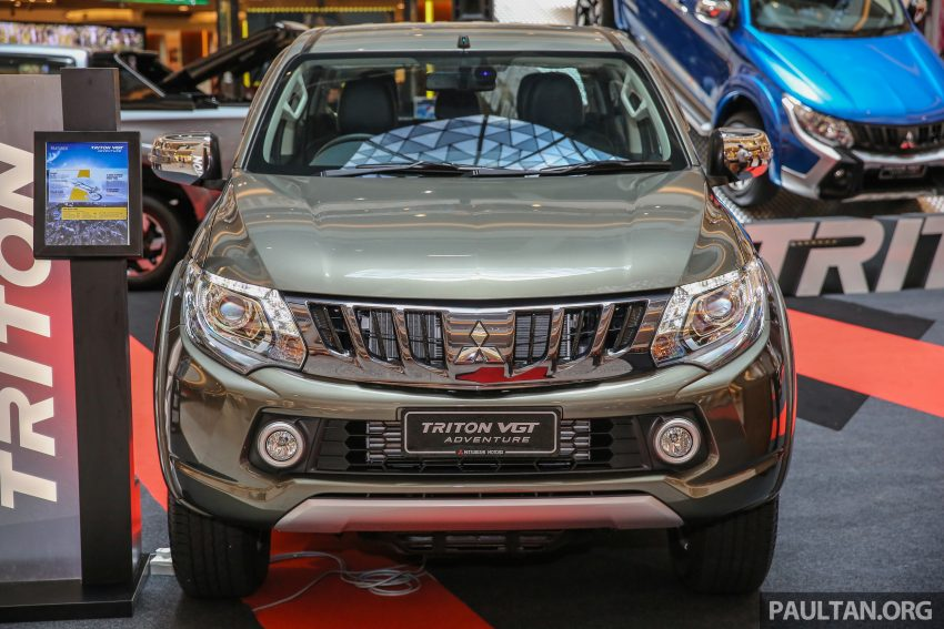 Mitsubishi Triton 将推升级版, 安全配备提升, 周五上市。 Image #24277