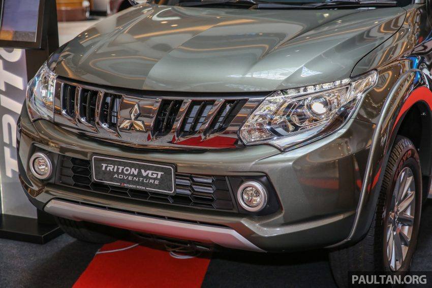 Mitsubishi Triton 将推升级版, 安全配备提升, 周五上市。 Image #24279