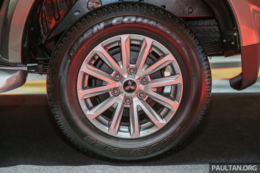 Mitsubishi Triton 将推升级版, 安全配备提升, 周五上市。 Image #24280