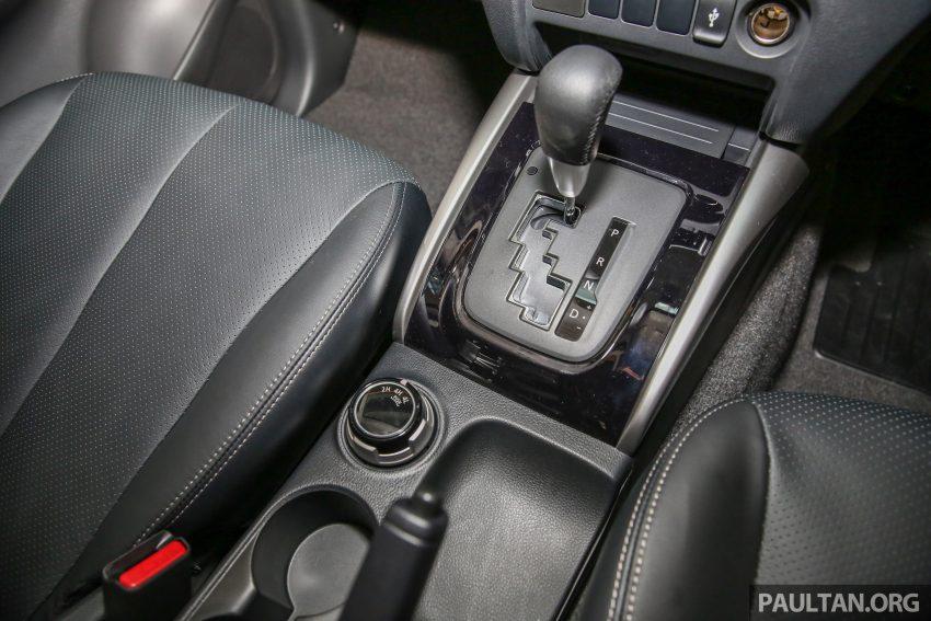 Mitsubishi Triton 将推升级版, 安全配备提升, 周五上市。 Image #24320
