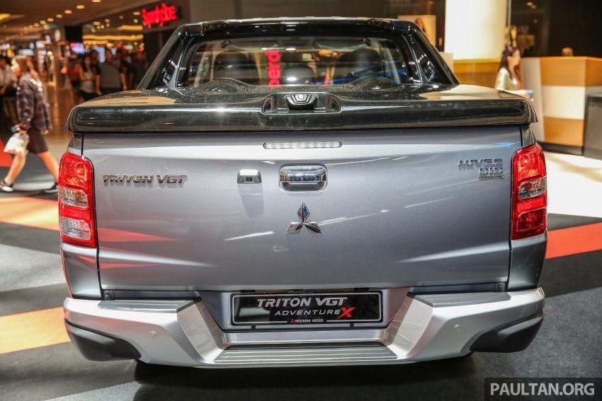 Mitsubishi Triton 将推升级版, 安全配备提升, 周五上市。 Image #24307