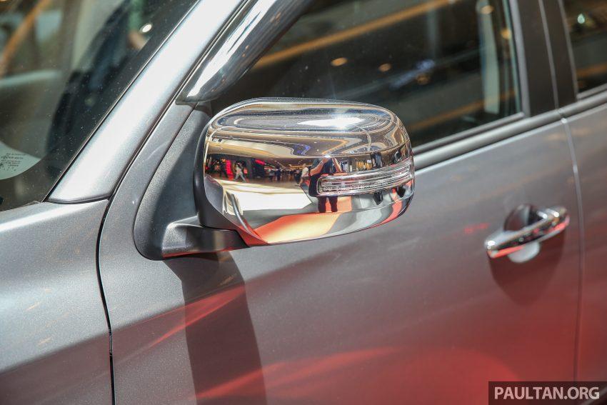 Mitsubishi Triton 将推升级版, 安全配备提升, 周五上市。 Image #24311