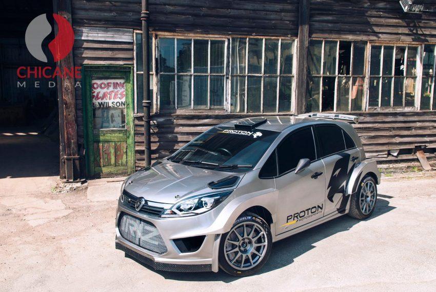 来势汹汹,WRC拉力赛车 Proton Iriz R5 首批官图曝光。 Image #30258