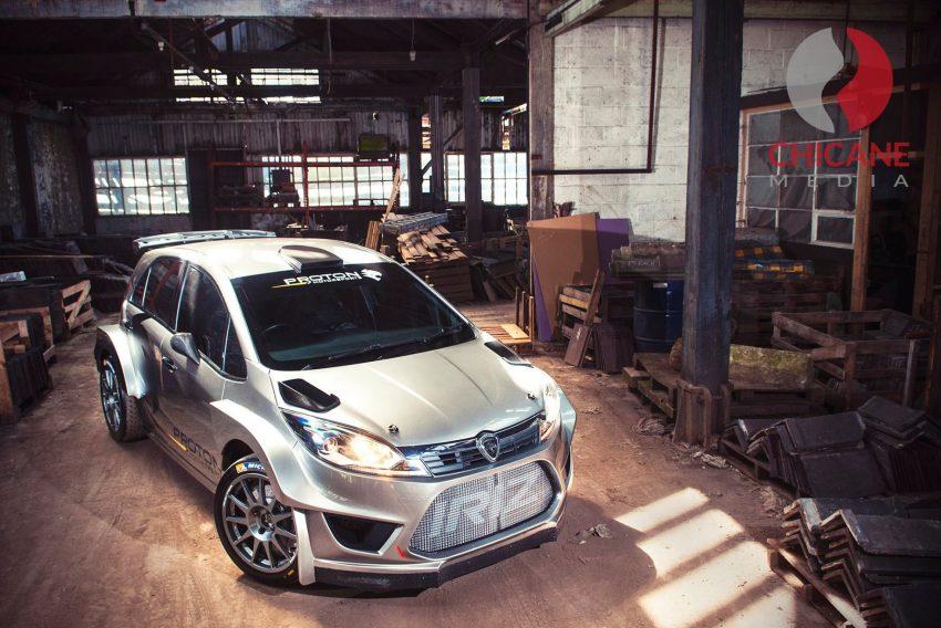 来势汹汹,WRC拉力赛车 Proton Iriz R5 首批官图曝光。 Image #30263