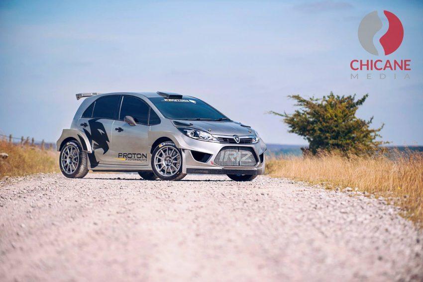 来势汹汹,WRC拉力赛车 Proton Iriz R5 首批官图曝光。 Image #30264