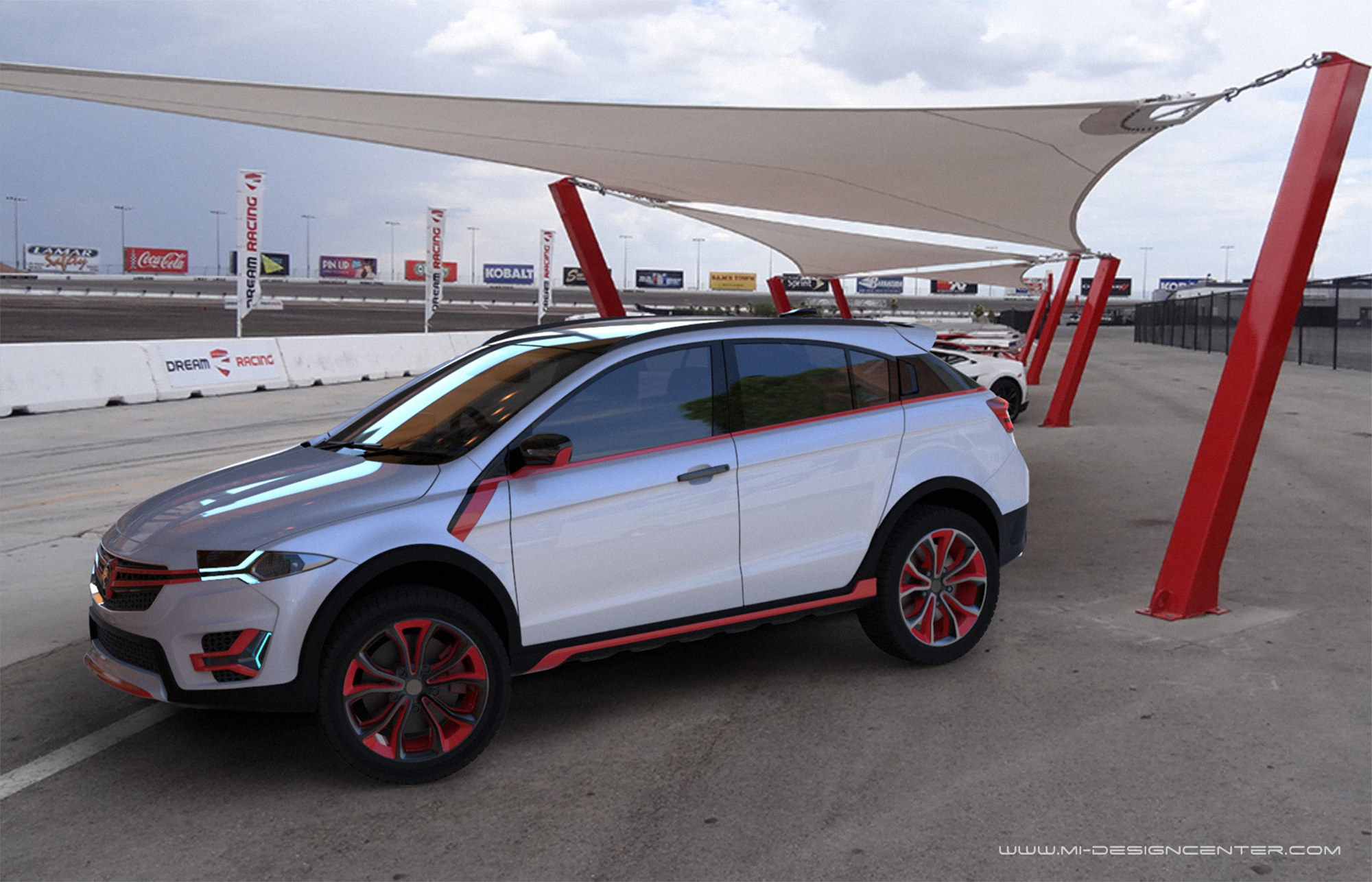 肌肉型SUV,Proton Suprima X 完整设计图及视频曝光! 1_2017_Suprima_X ...
