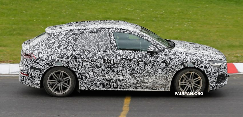 全新 Audi Q8 纽柏林测试谍照曝光,无窗框双荧幕设计! Image #31323