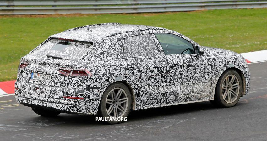 全新 Audi Q8 纽柏林测试谍照曝光,无窗框双荧幕设计! Image #31324