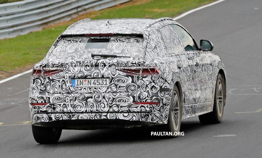 全新 Audi Q8 纽柏林测试谍照曝光,无窗框双荧幕设计! Image #31326