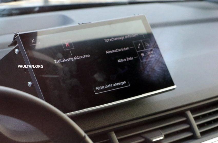 全新 Audi Q8 纽柏林测试谍照曝光,无窗框双荧幕设计! Image #31329