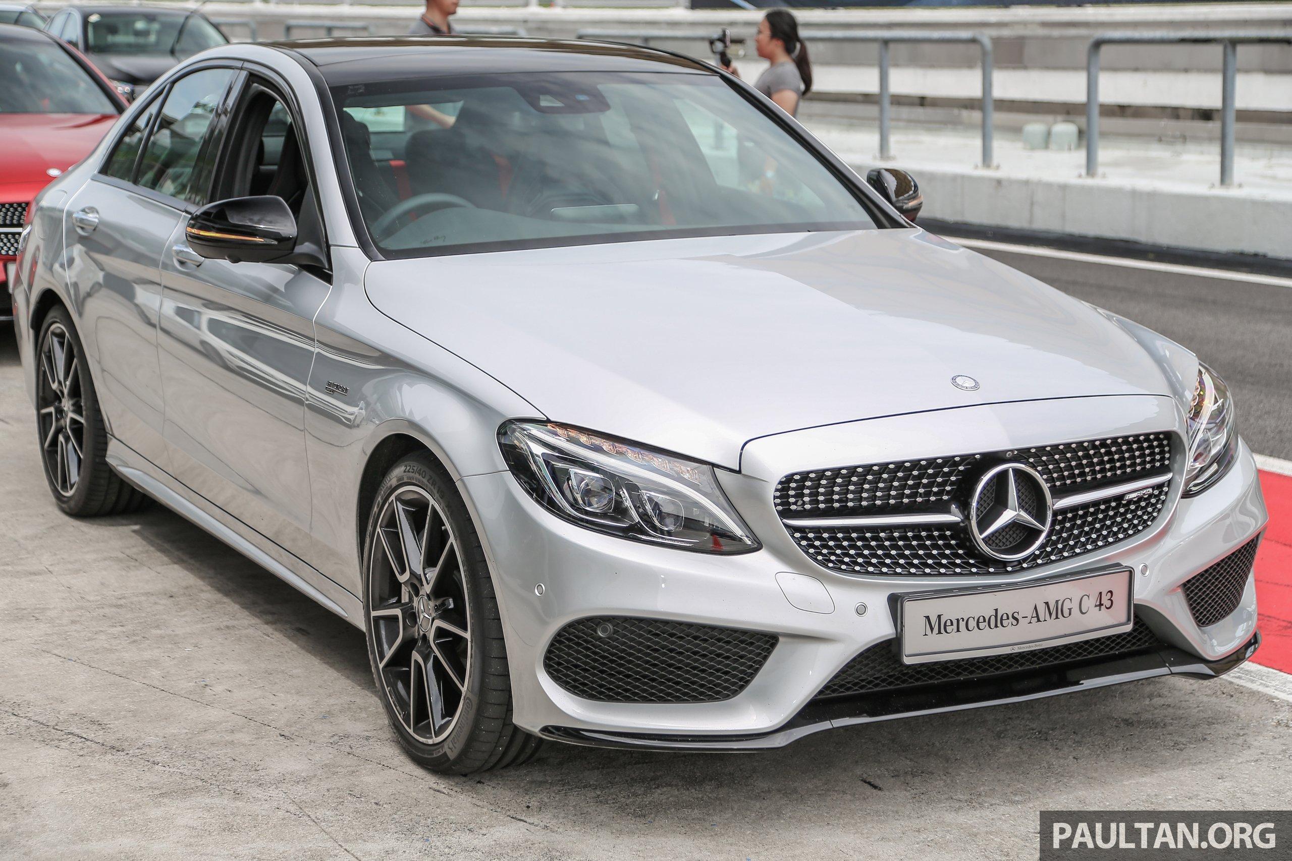 Mercedes Amg C43 与 C43 Coupe 上市,售价500k起。 Mercedes Amg C43
