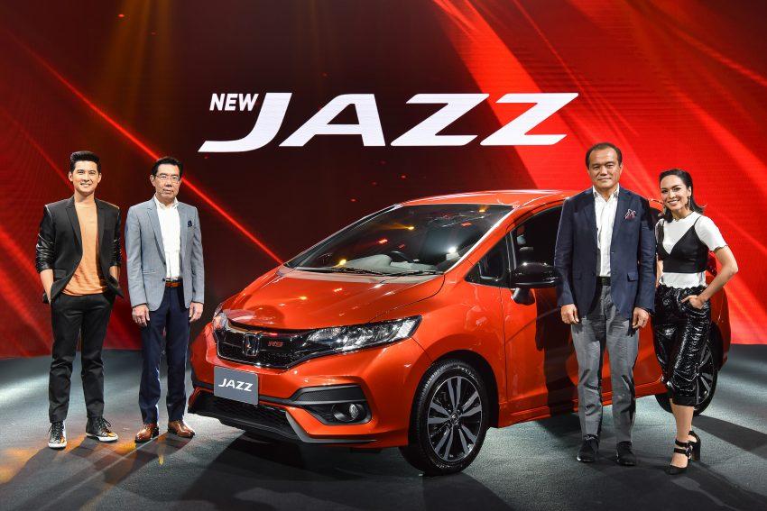 小改款 Honda Jazz 泰国全球首发,售价从RM 70K起。 Image #30176