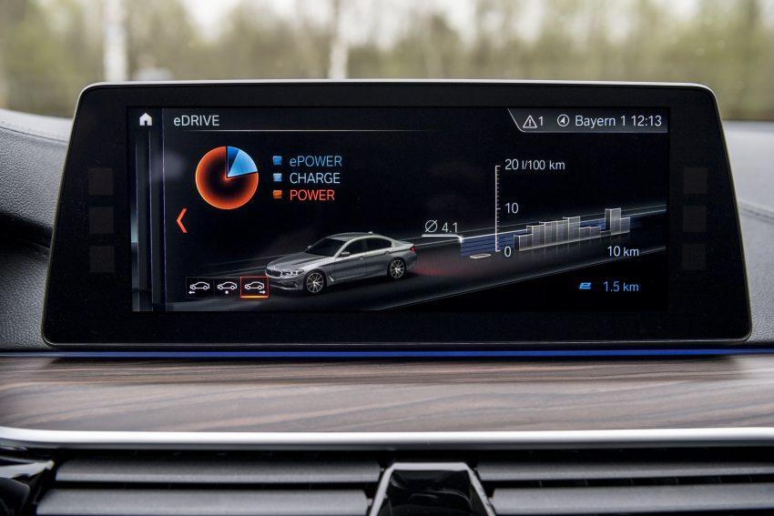 图集:G30 BMW 530e iPerformance,原厂公布规格! Image #28095