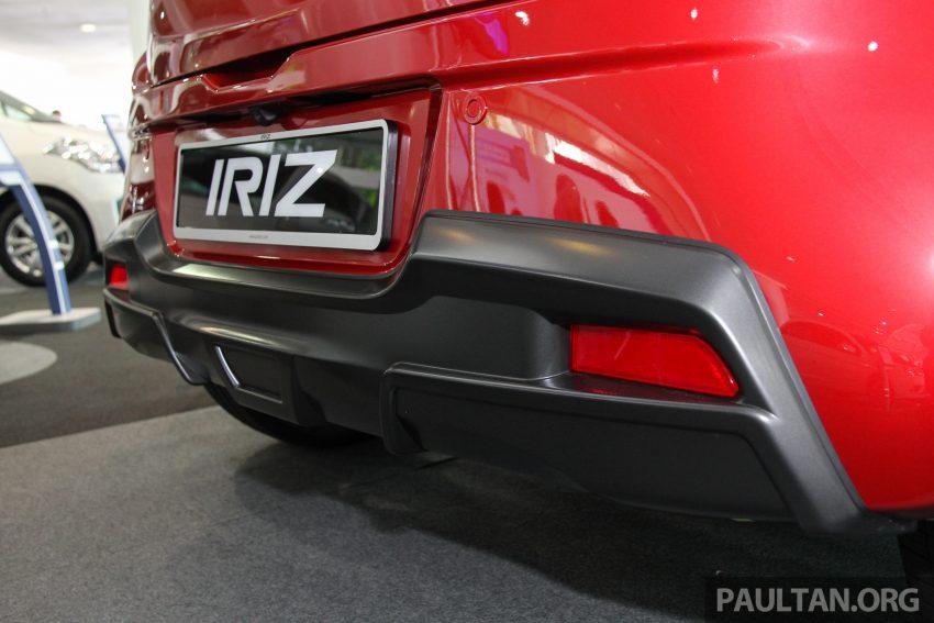 小改款 2017 Proton Iriz 公开展示,揭露第一手规格配备。 Image #30201
