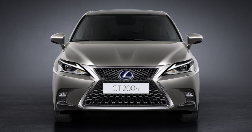 Lexus CT 200h 再次小改款,主被动安全配备更丰富。 Image #33005