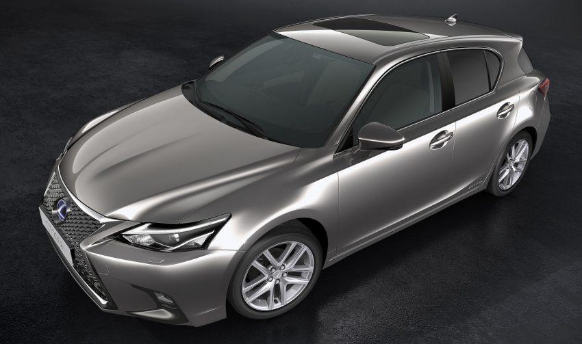 Lexus CT 200h 再次小改款,主被动安全配备更丰富。 Image #33013