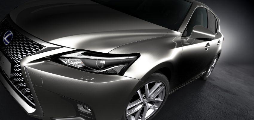 Lexus CT 200h 再次小改款,主被动安全配备更丰富。 Image #33017