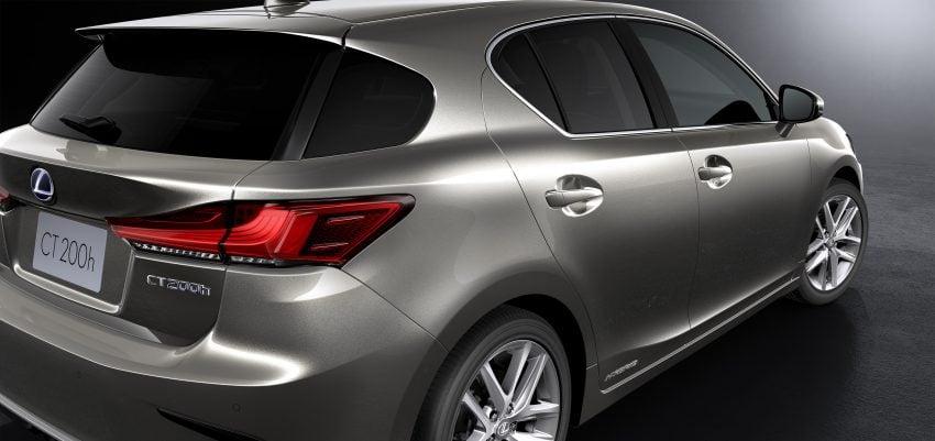 Lexus CT 200h 再次小改款,主被动安全配备更丰富。 Image #33018