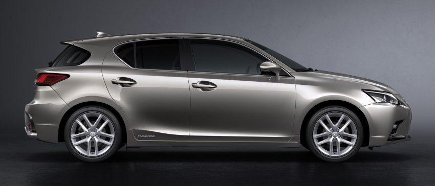 Lexus CT 200h 再次小改款,主被动安全配备更丰富。 Image #33008