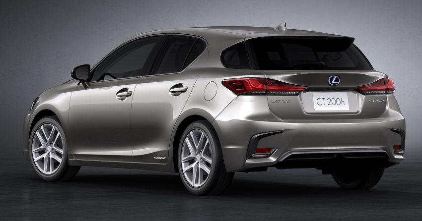 Lexus CT 200h 再次小改款,主被动安全配备更丰富。 Image #33010