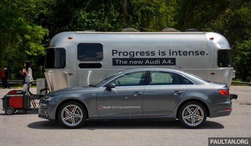 试驾:Audi A4 2.0 quattro & 1.4 TFSI,高低配的差异。 Image #33692