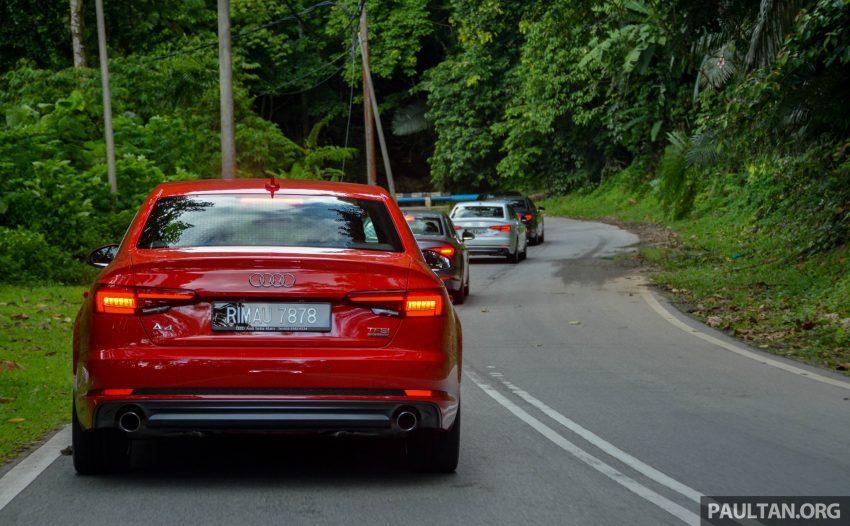 试驾:Audi A4 2.0 quattro & 1.4 TFSI,高低配的差异。 Image #33694