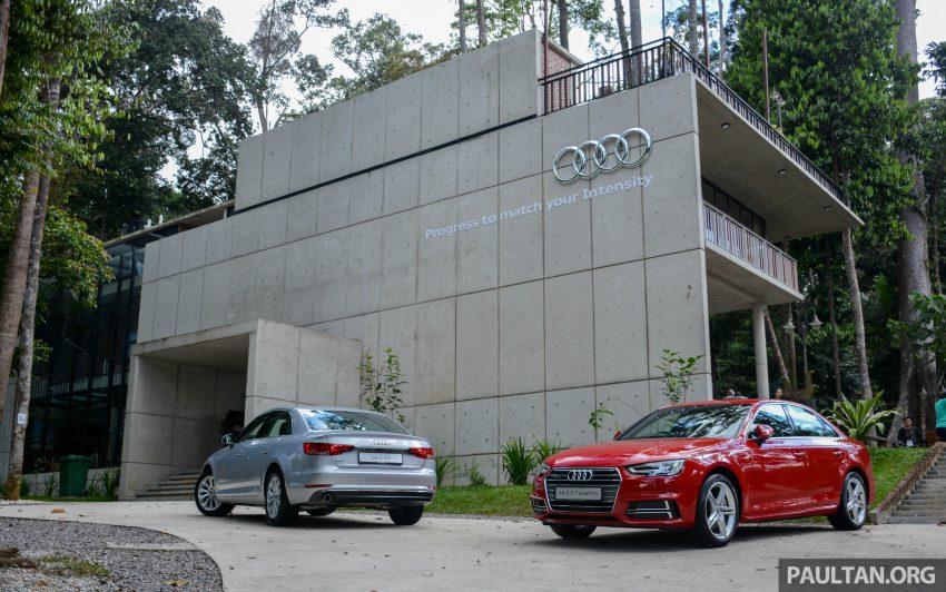 试驾:Audi A4 2.0 quattro & 1.4 TFSI,高低配的差异。 Image #33695