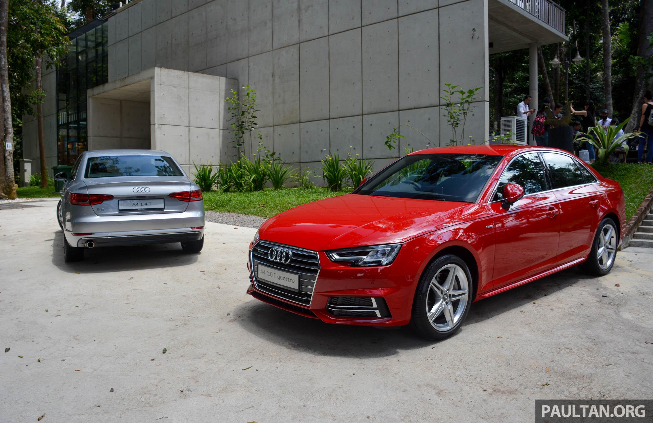 试驾:audi A4 2 0 Quattro Amp 1 4 Tfsi,高低配的差异。 Audi A4 Drive